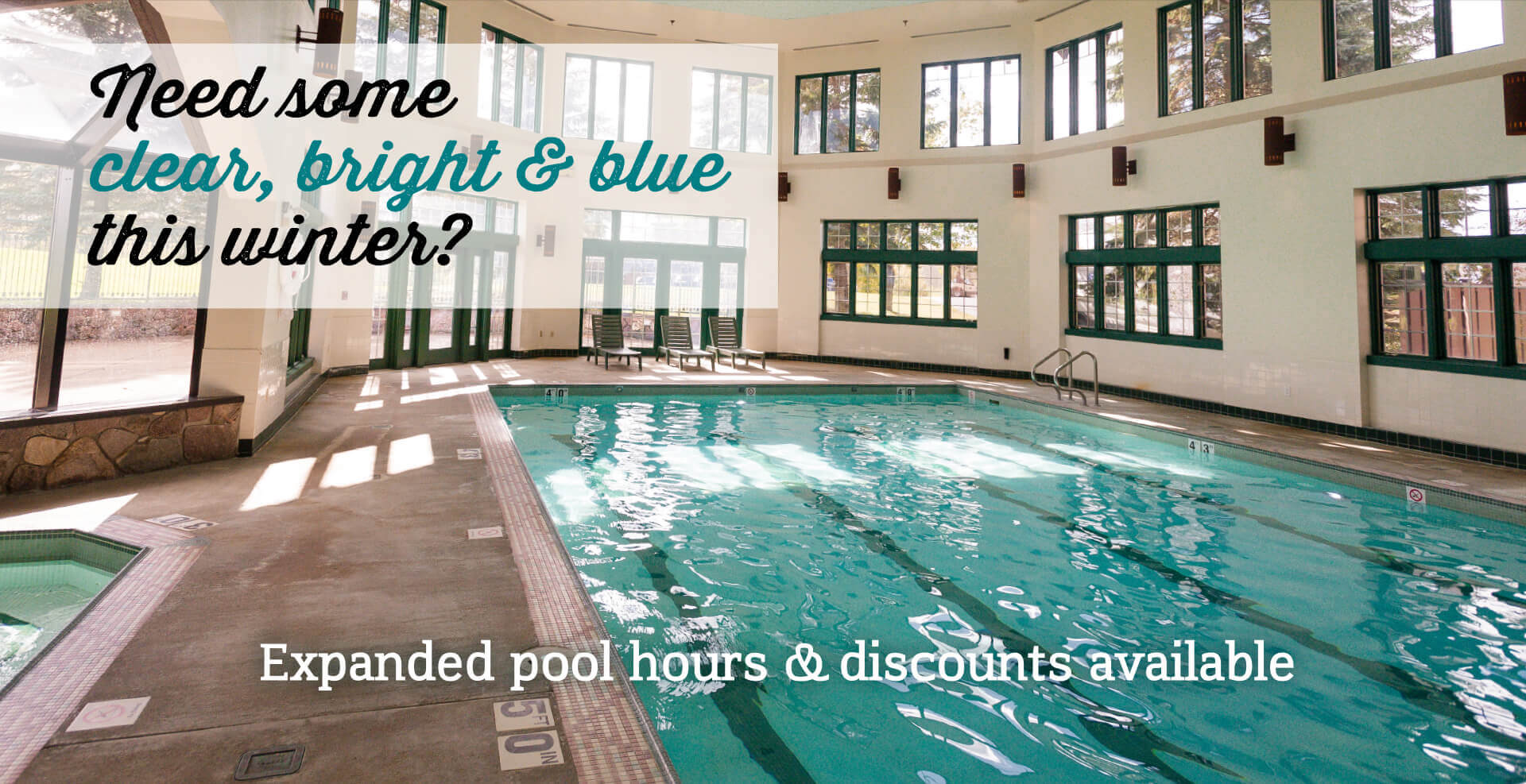Pool and Hot tub Banner